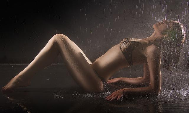 girl wet
